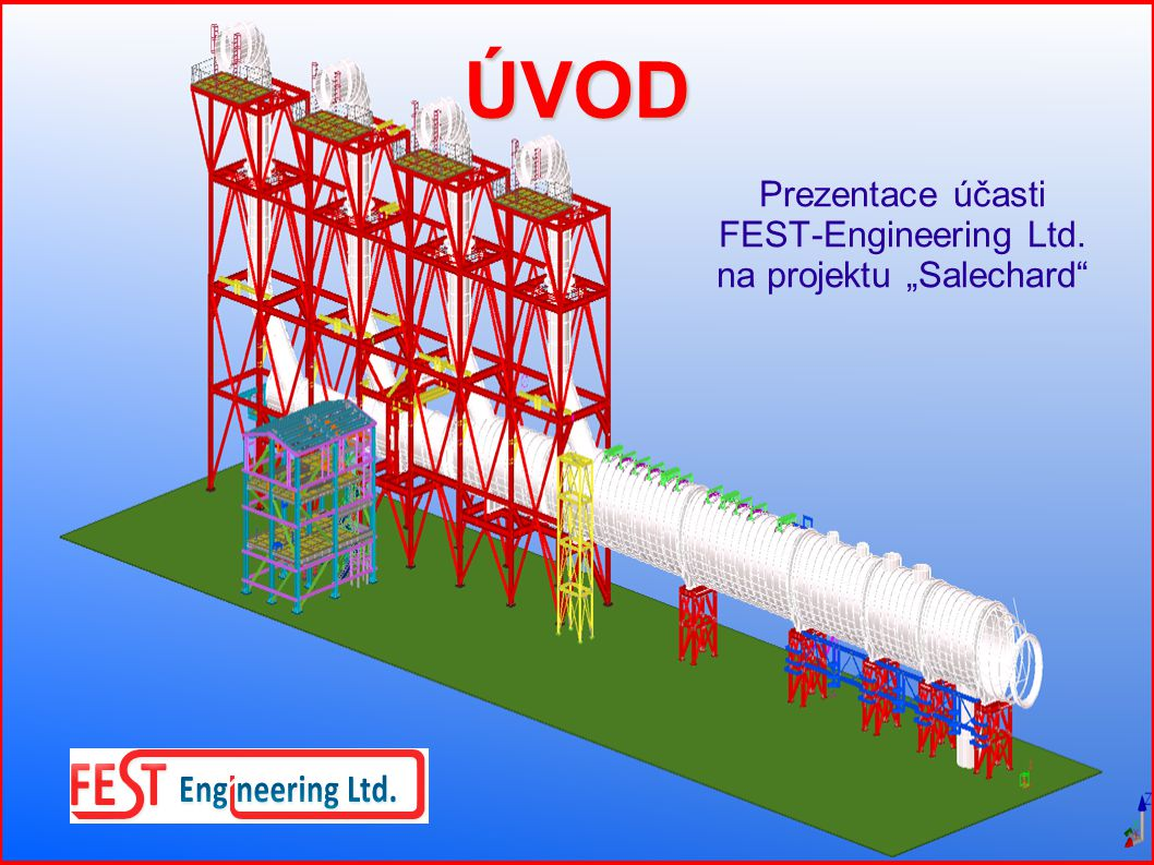 "Prezentace účasti FEST-Engineering Ltd. na projektu ""Salechard"