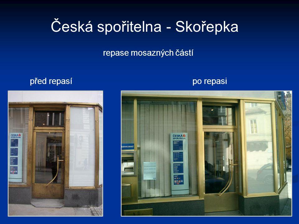 Česká spořitelna - Skořepka