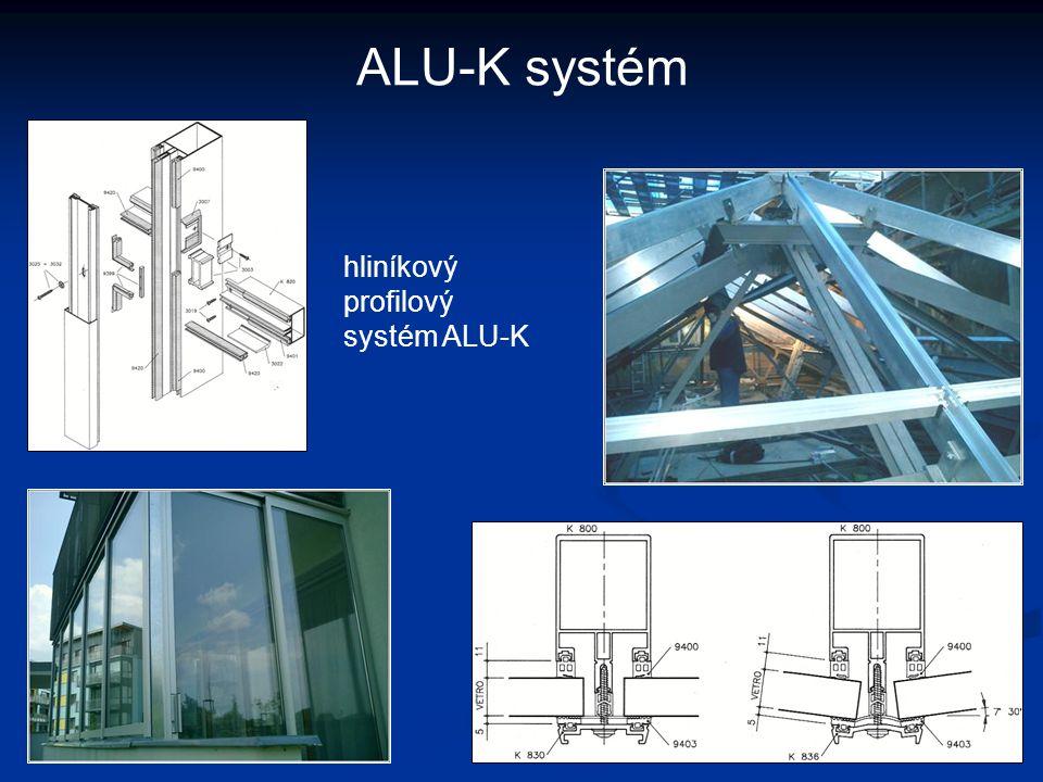 ALU-K systém hliníkový profilový systém ALU-K
