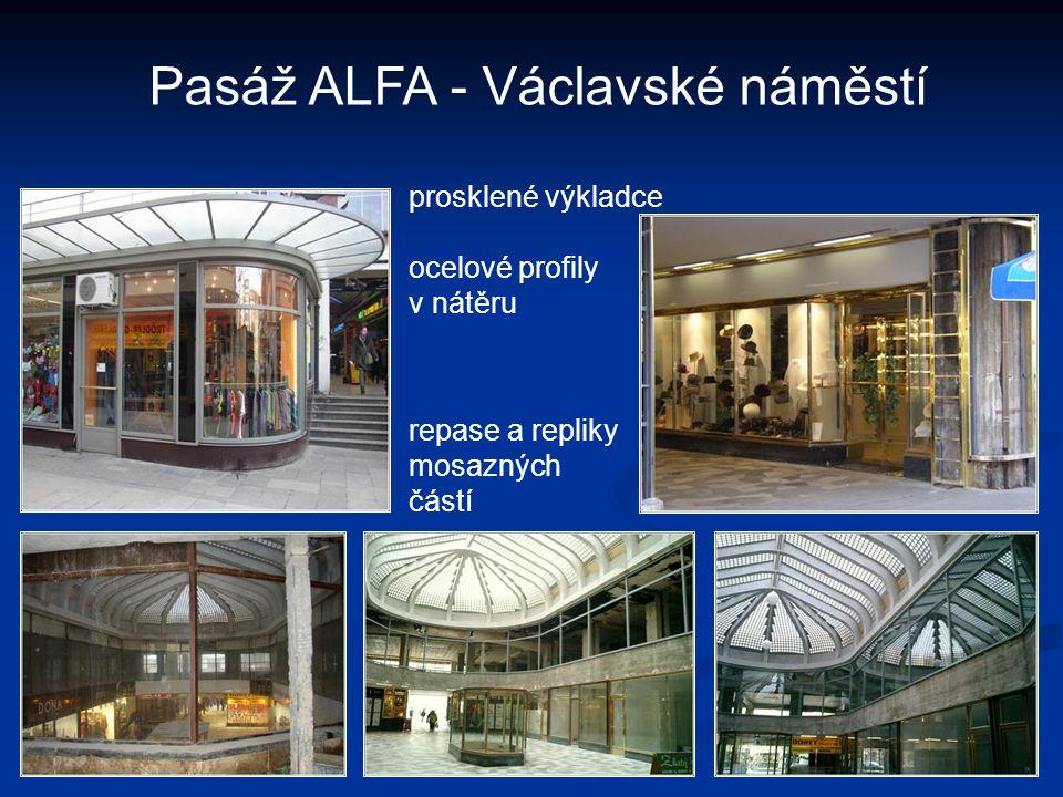 Pasáž ALFA - Václavské náměstí