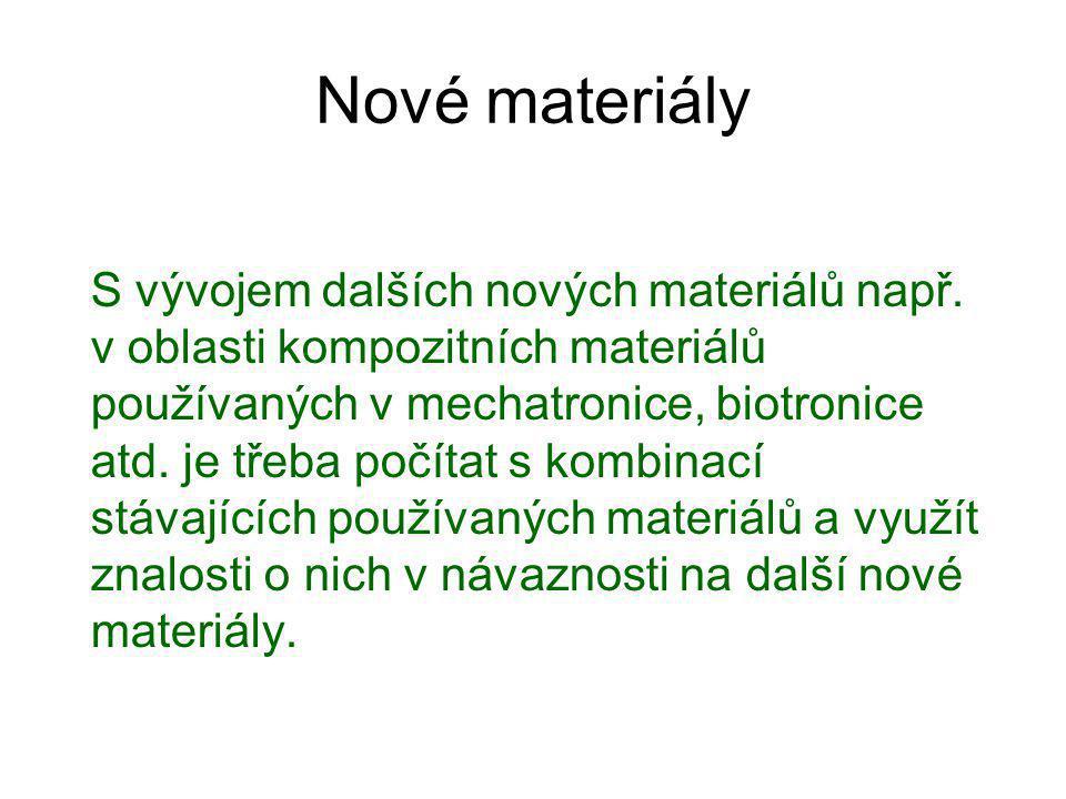 Nové materiály