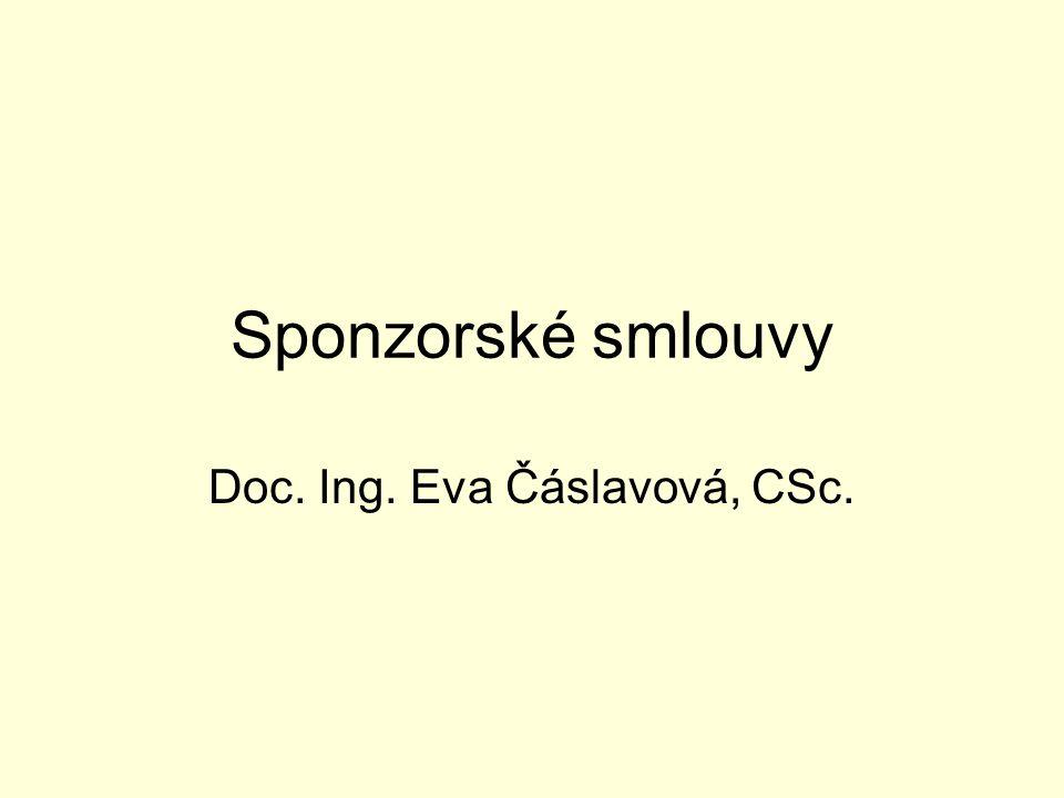 Doc. Ing. Eva Čáslavová, CSc.