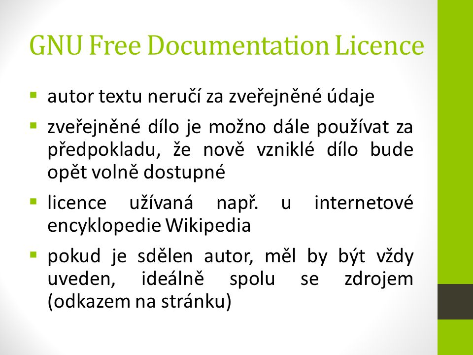 GNU Free Documentation Licence