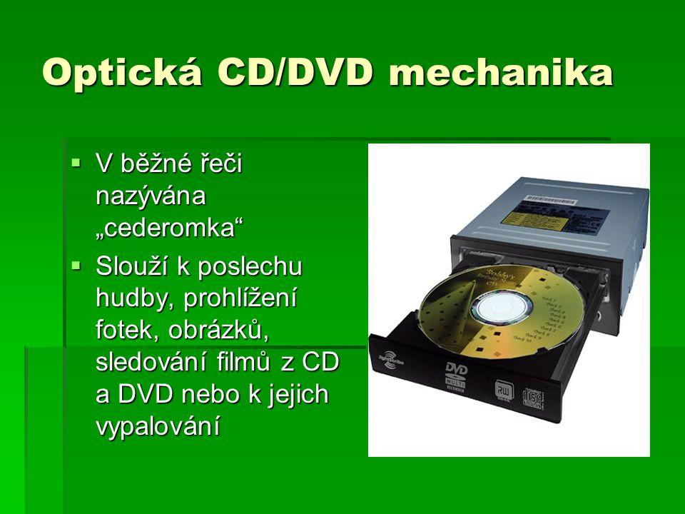 Optická CD/DVD mechanika