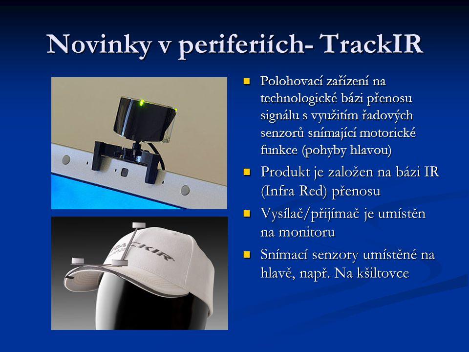 Novinky v periferiích- TrackIR