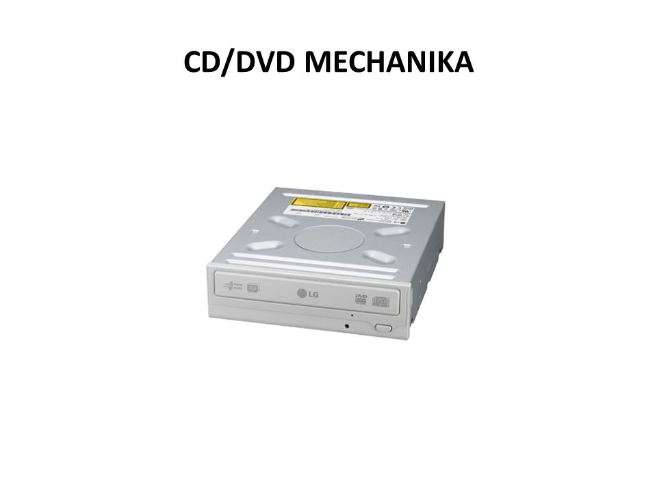 CD/DVD MECHANIKA