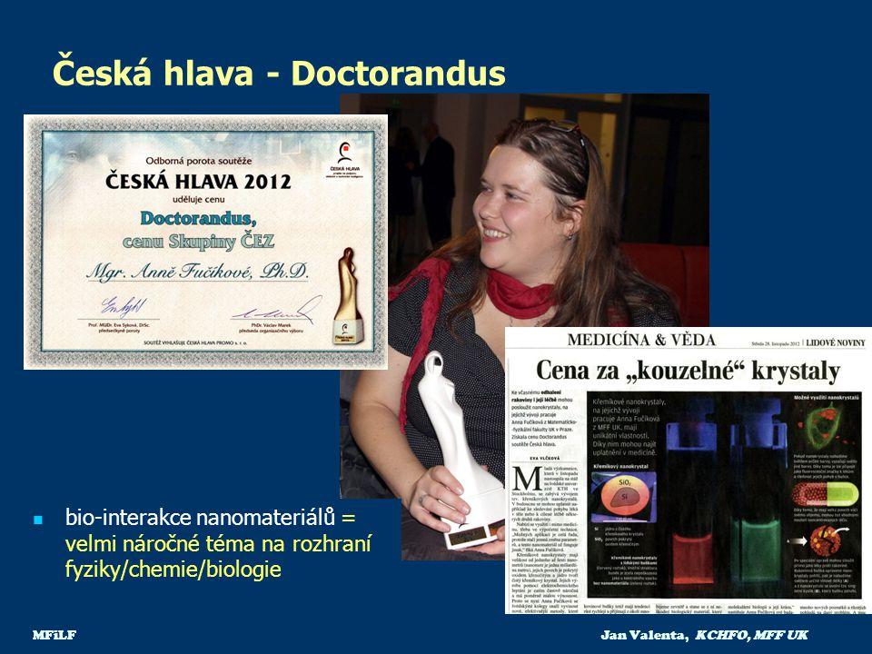 Česká hlava - Doctorandus