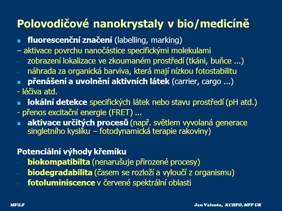 Polovodičové nanokrystaly v bio/medicíně