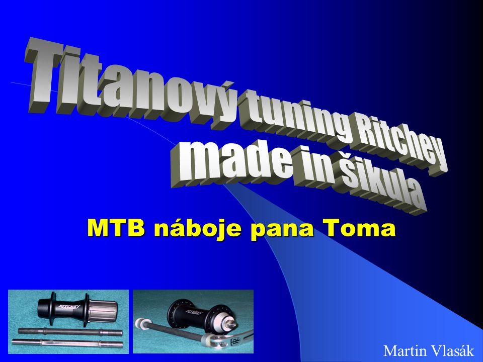 Titanový tuning Ritchey