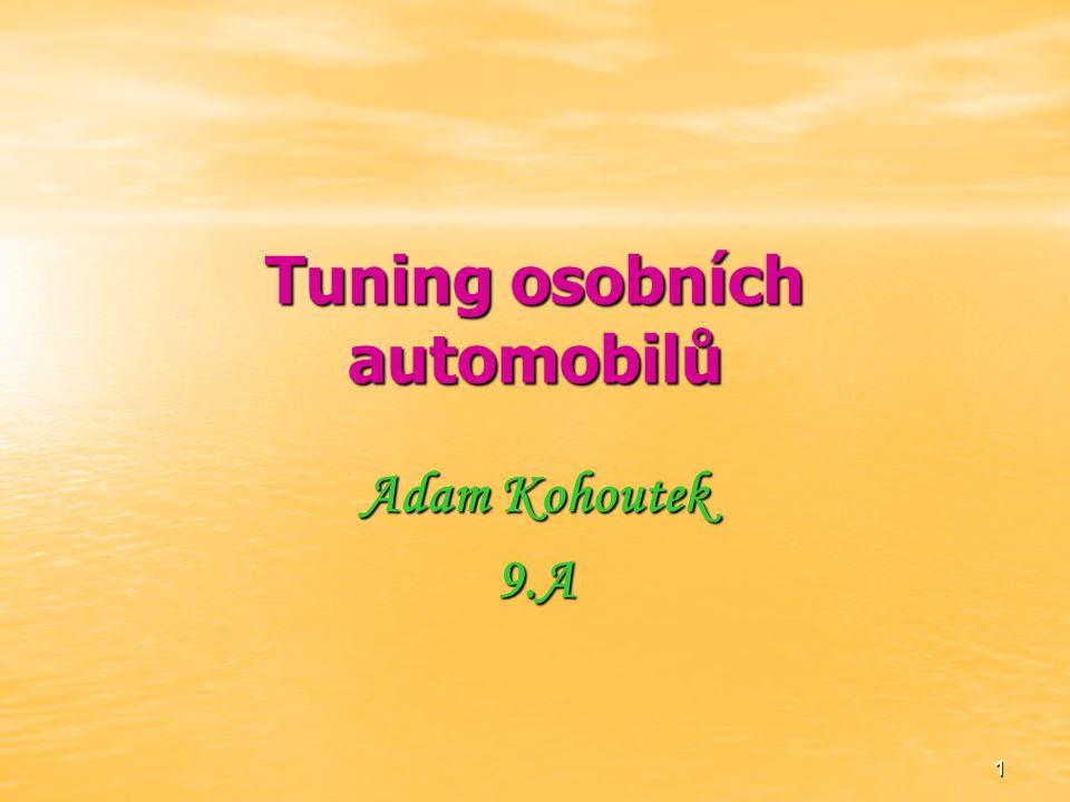 Tuning osobních automobilů