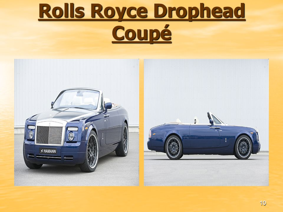 Rolls Royce Drophead Coupé