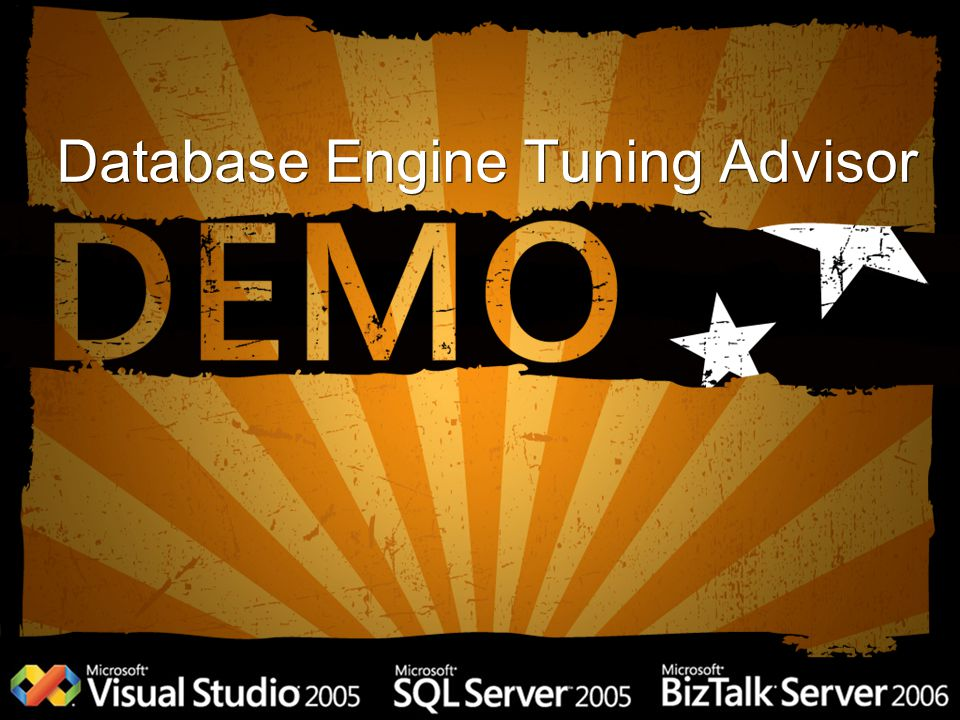 Database Engine Tuning Advisor