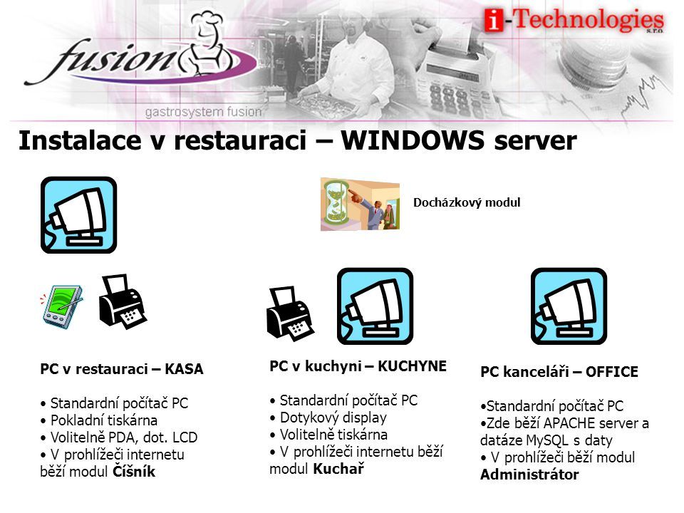 Instalace v restauraci – WINDOWS server
