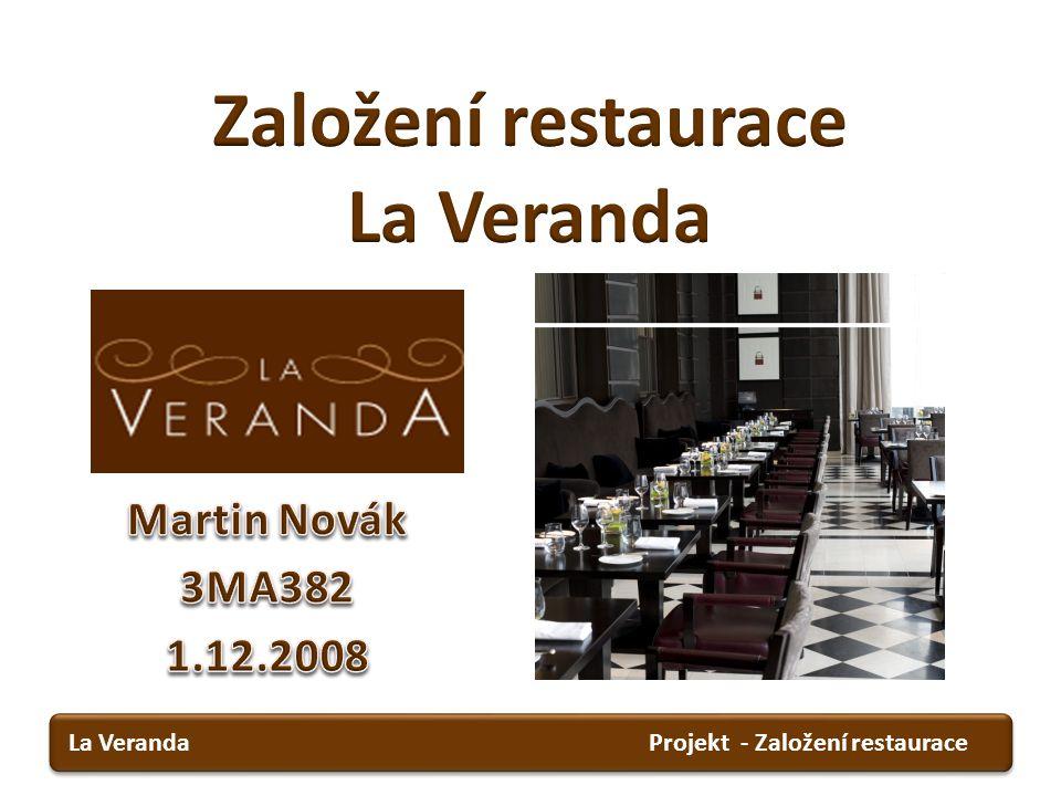 Založení restaurace La Veranda