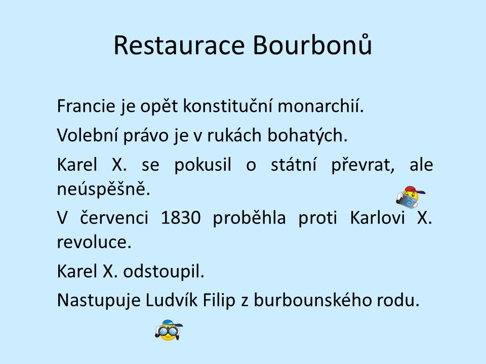 Restaurace Bourbonů