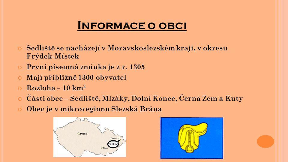 Informace o obci Sedliště se nacházejí v Moravskoslezském kraji, v okresu Frýdek-Místek. První písemná zmínka je z r. 1305.