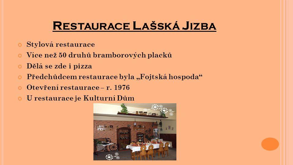 Restaurace Lašská Jizba