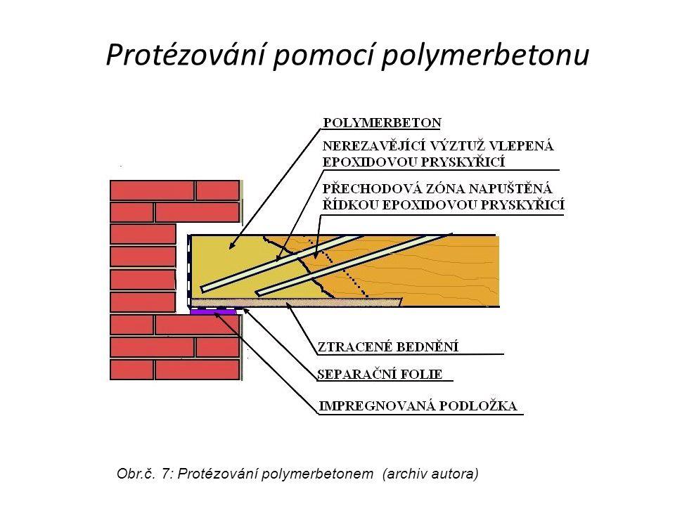 Protézování pomocí polymerbetonu
