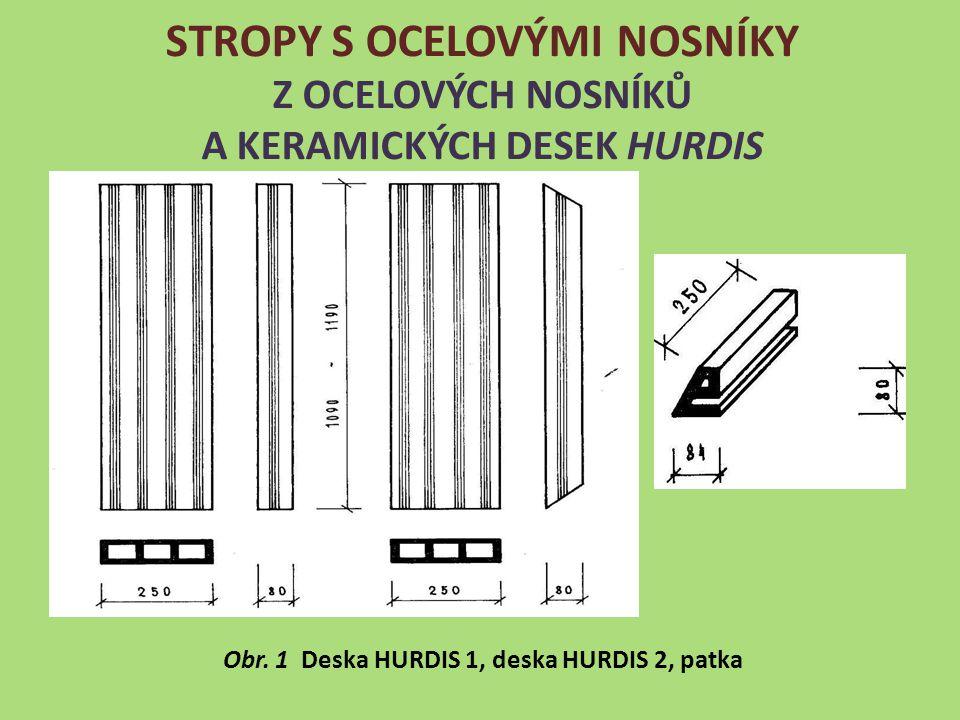 Obr. 1 Deska HURDIS 1, deska HURDIS 2, patka