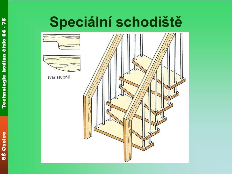 Speciální schodiště