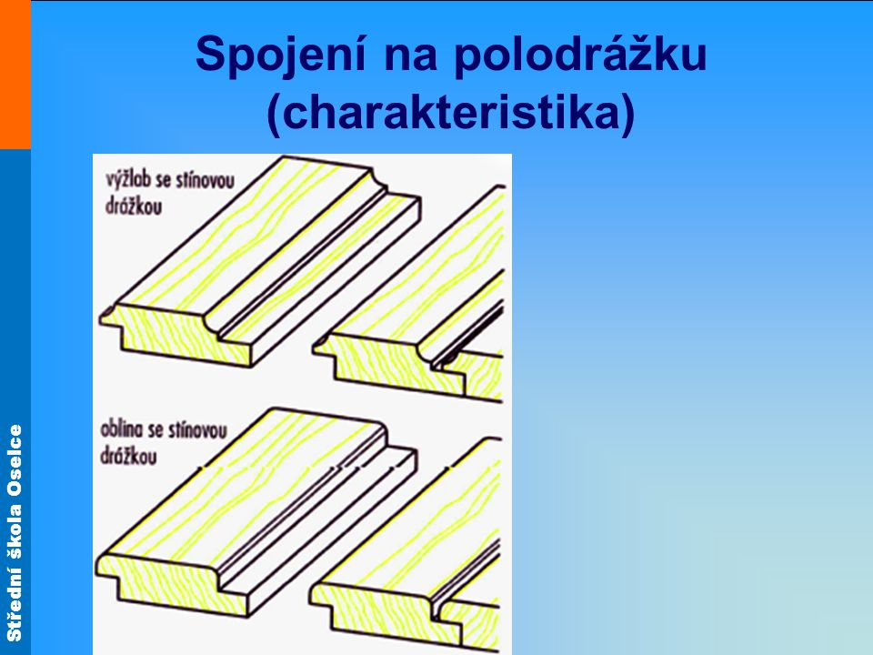 Spojení na polodrážku (charakteristika)