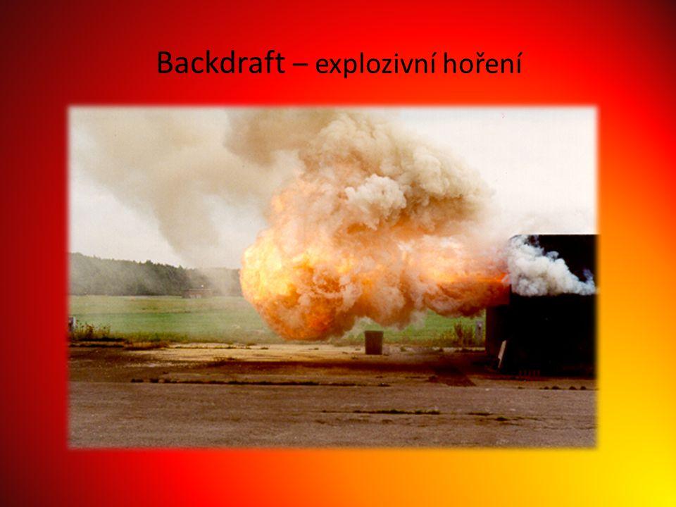 Backdraft – explozivní hoření