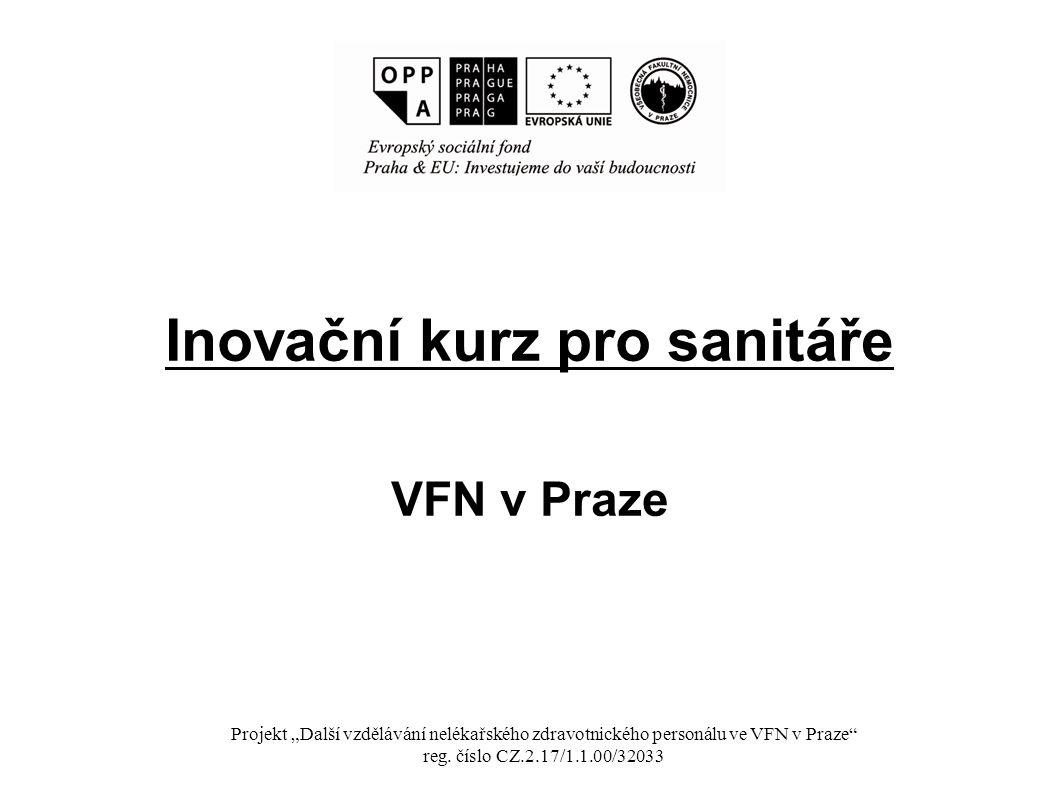 Inovační kurz pro sanitáře VFN v Praze