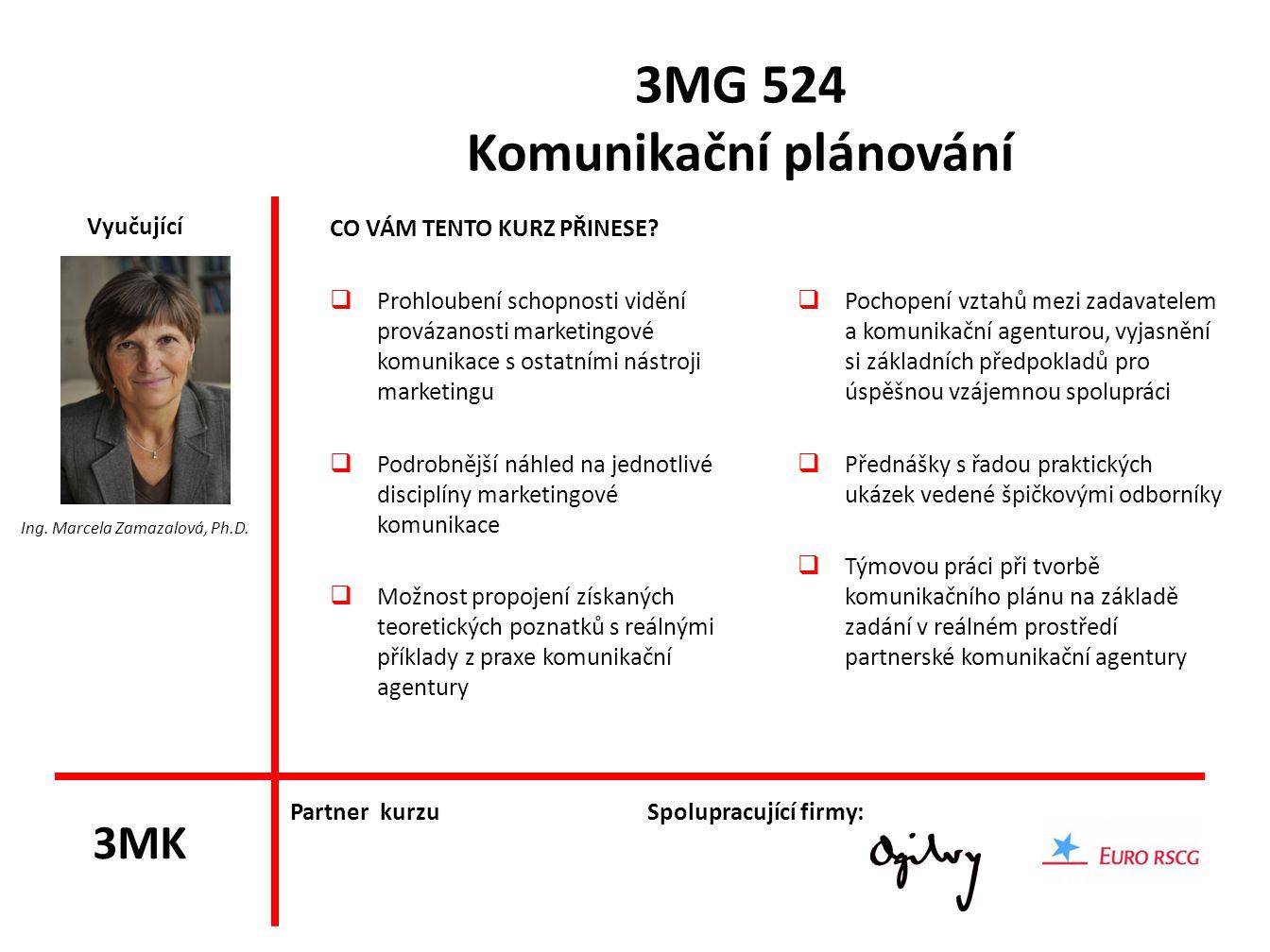 3MG 524 Komunikační plánování
