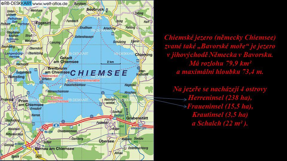 v jihovýchodě Německa v Bavorsku. Má rozlohu 79,9 km²