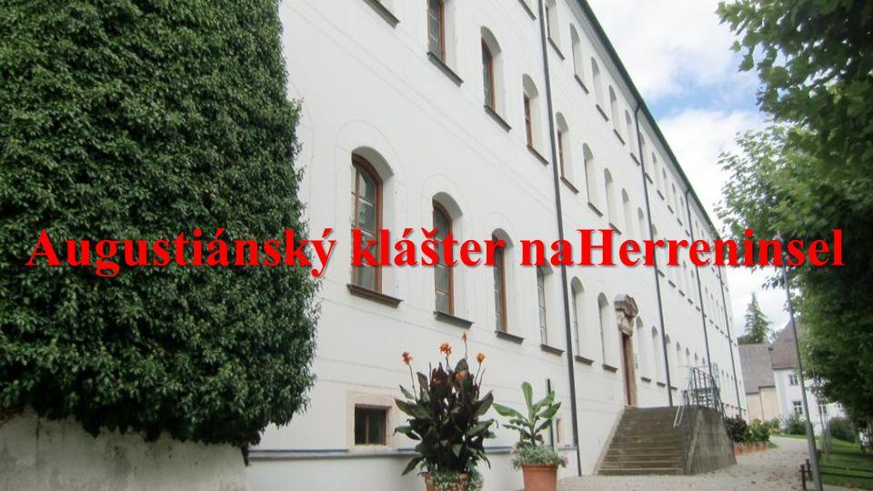 Augustiánský klášter naHerreninsel