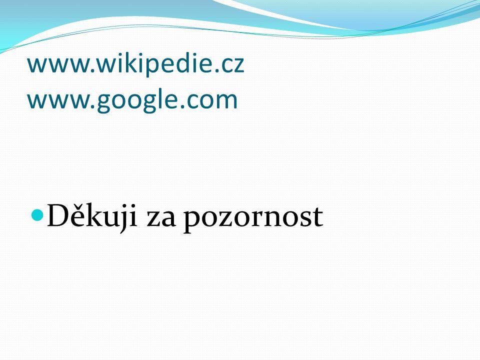 www.wikipedie.cz www.google.com