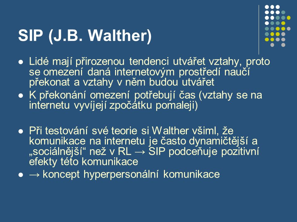 SIP (J.B. Walther)