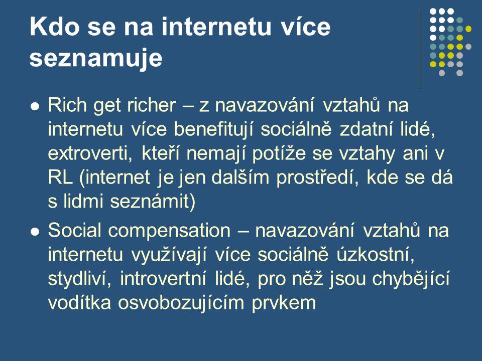 Kdo se na internetu více seznamuje