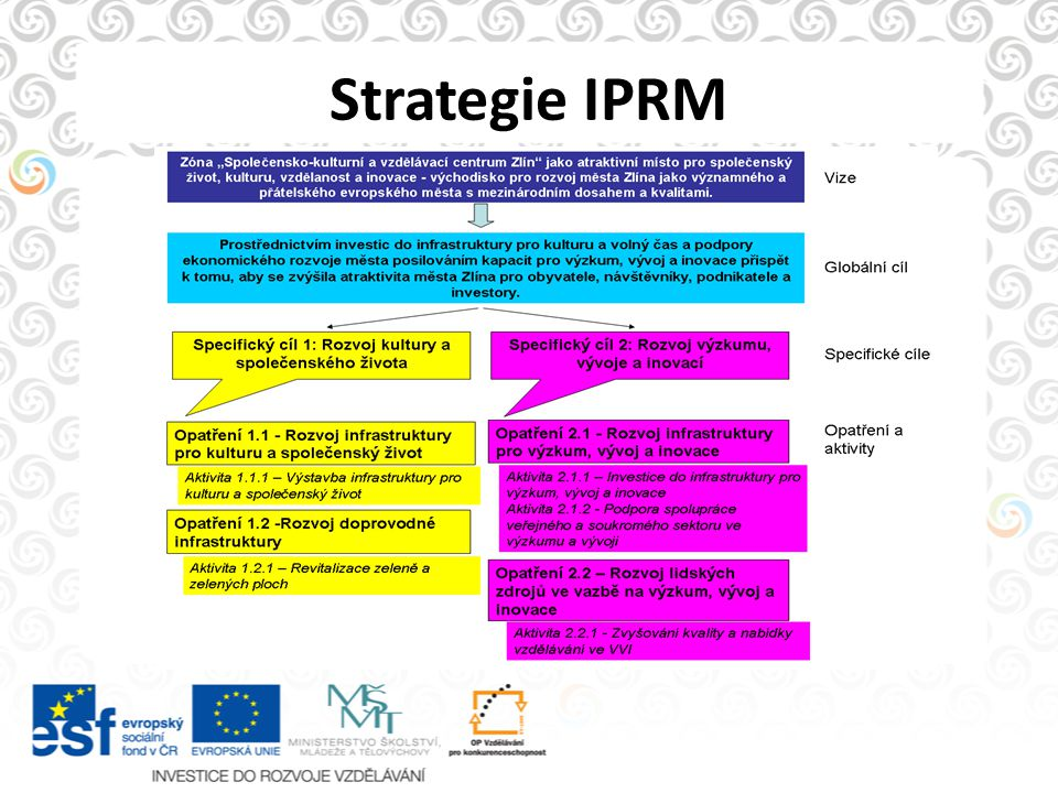 Strategie IPRM
