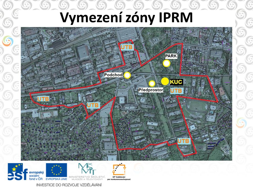 Vymezení zóny IPRM