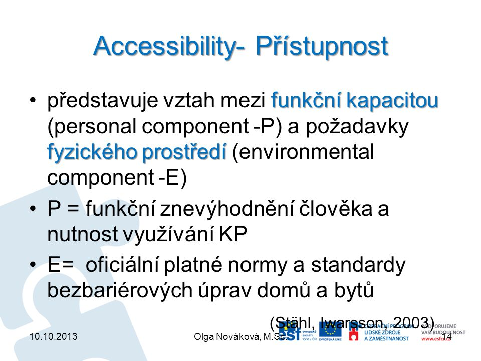 Accessibility- Přístupnost