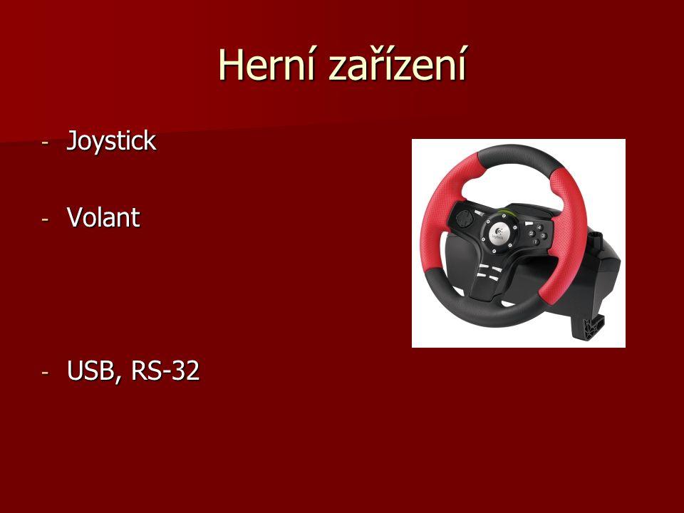 Herní zařízení Joystick Volant USB, RS-32