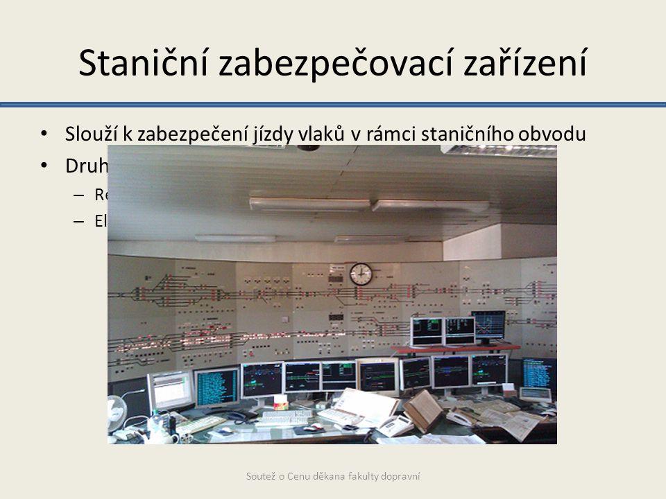 Staniční zabezpečovací zařízení