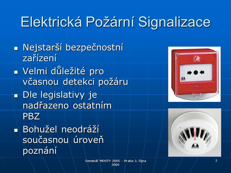Elektrická Požární Signalizace