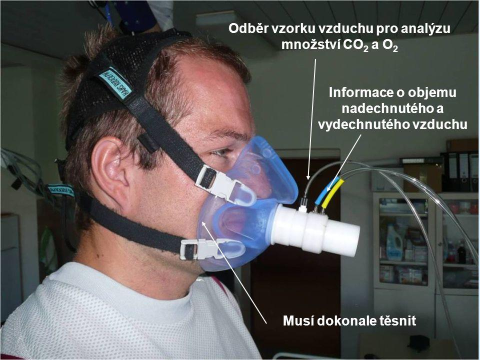 Odběr vzorku vzduchu pro analýzu množství CO2 a O2
