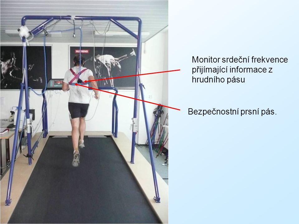Monitor srdeční frekvence přijímající informace z hrudního pásu