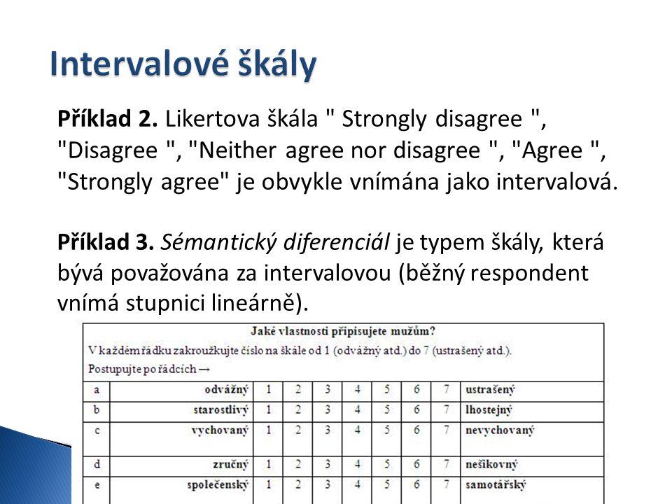 Intervalové škály