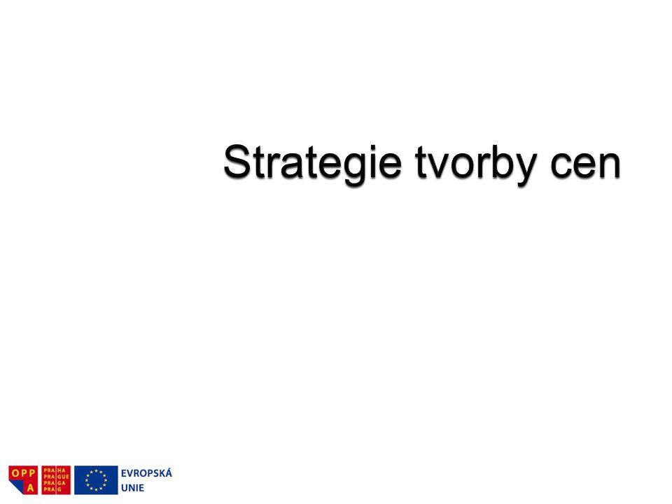 Strategie tvorby cen