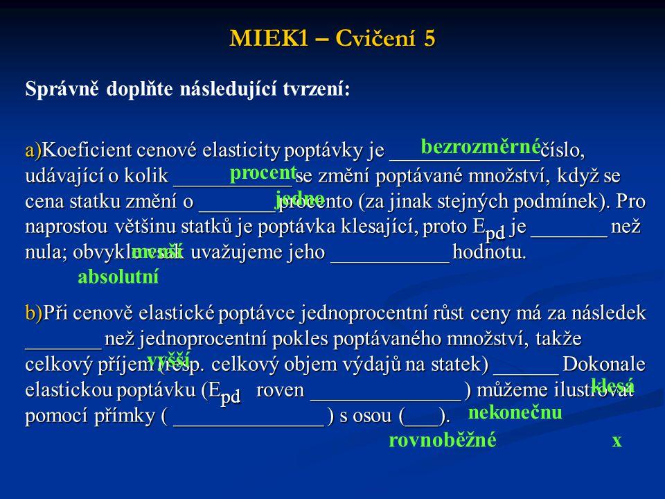 MIEK1 – Cvičení 5 bezrozměrné rovnoběžné