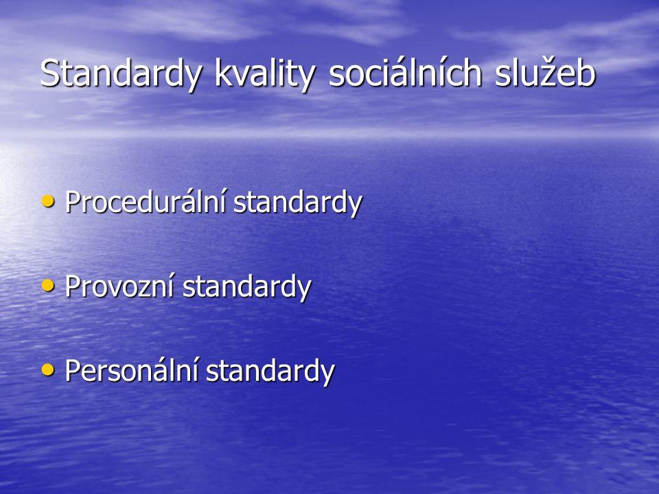 Standardy kvality sociálních služeb