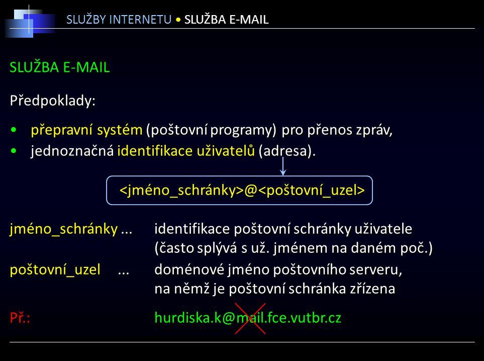<jméno_schránky>@<poštovní_uzel>