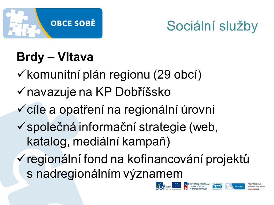 Sociální služby Brdy – Vltava komunitní plán regionu (29 obcí)