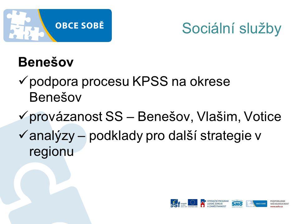 Sociální služby Benešov podpora procesu KPSS na okrese Benešov