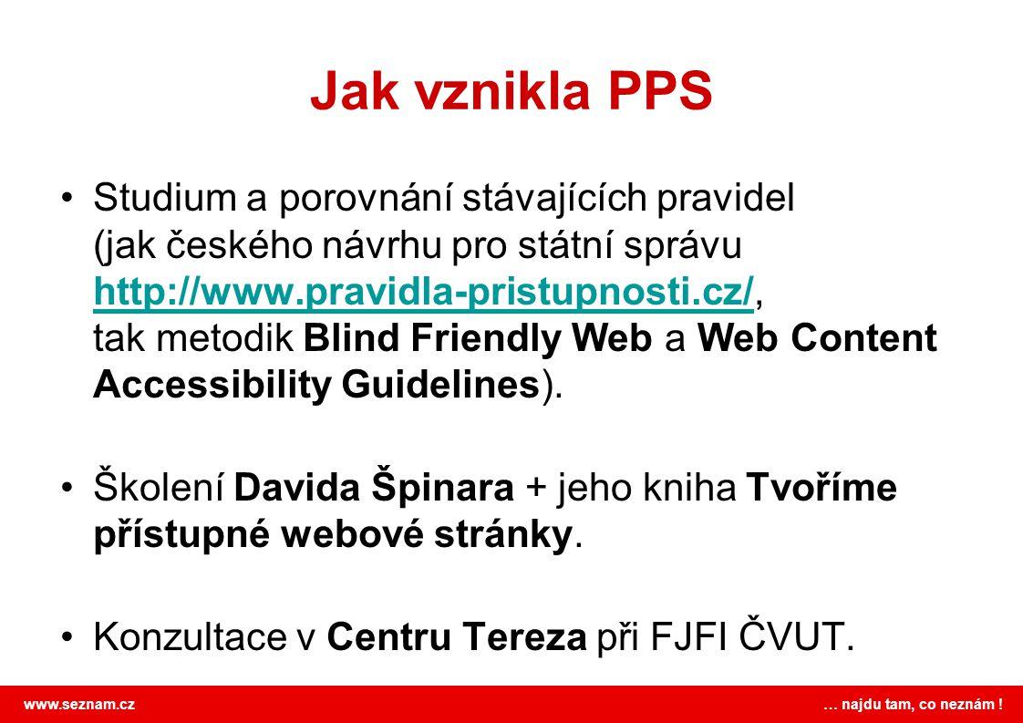 Jak vznikla PPS