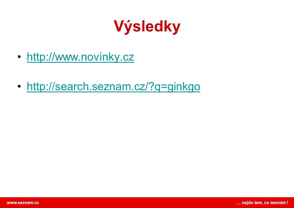 Výsledky http://www.novinky.cz http://search.seznam.cz/ q=ginkgo